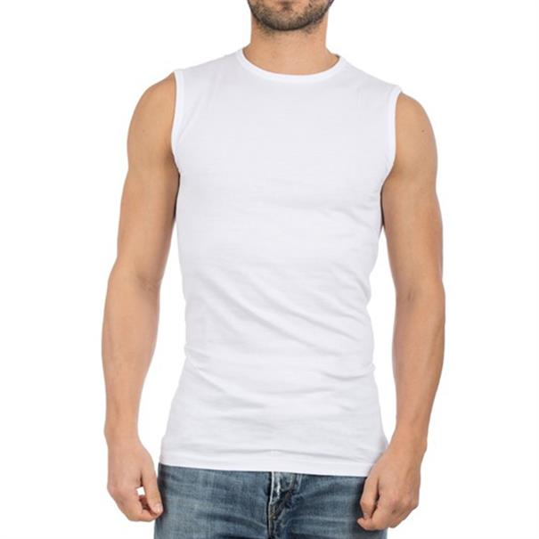 Alan Red Singlet Montana O-Neck 2-P