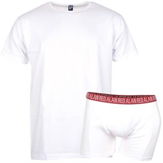 Alan Red T-Shirt & Boxer Red Pack