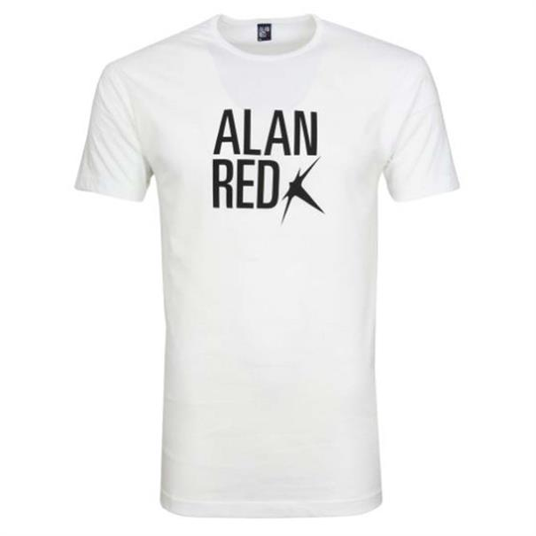 Alan Red T-Shirt Logo