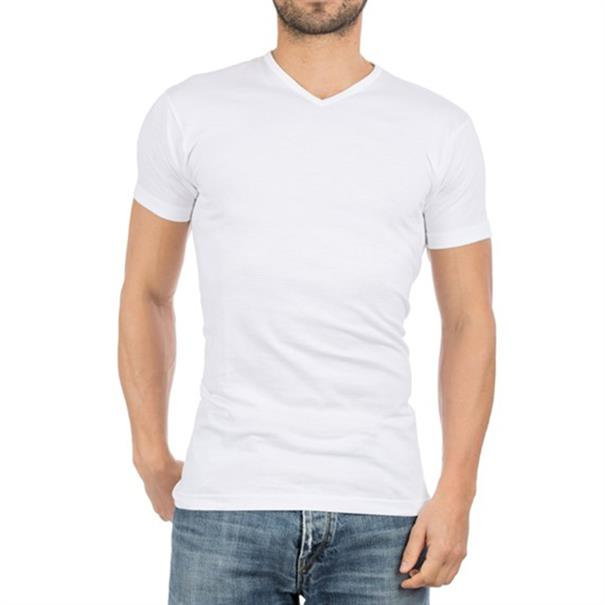 Alan Red T-Shirt Vermont V-Neck 2-P